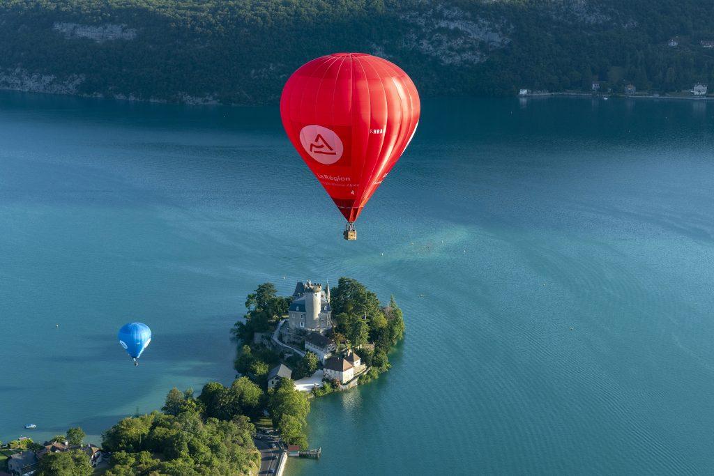 Montgolfières et Cie Annonay Ardèche Montgolfière Voyage voler vol Lyon