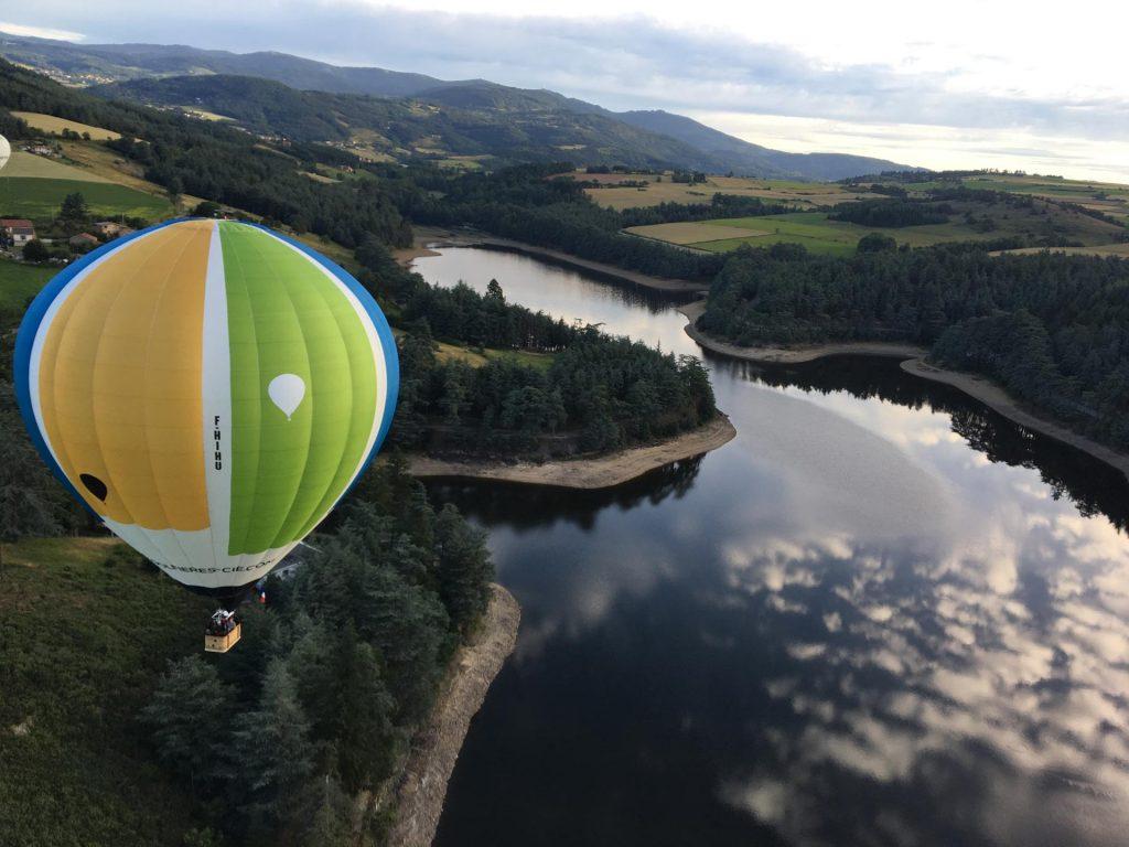 Montgolfières et Cie Annonay Ardèche Montgolfière Voyage voler vol Rhône-Alpes