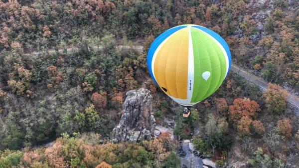 Montgolfières et Cie Annonay Ardèche ballon automne